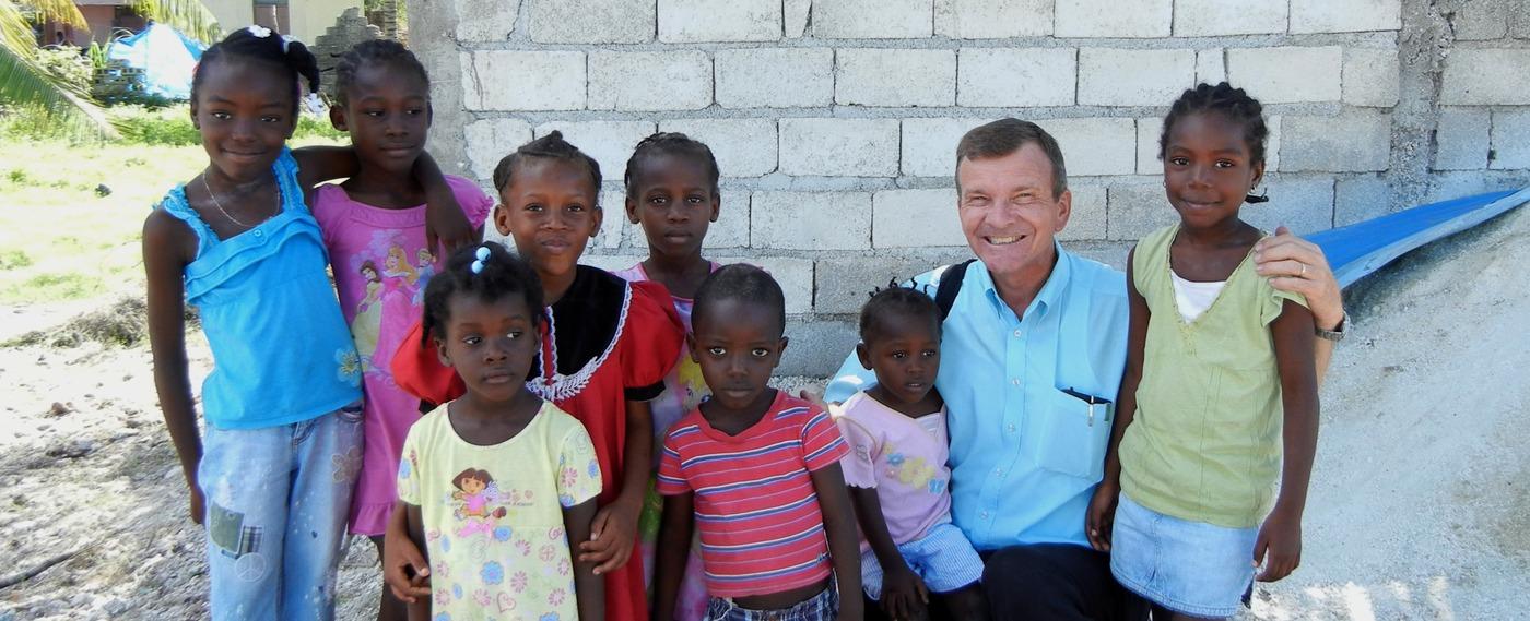 Children in Haiti